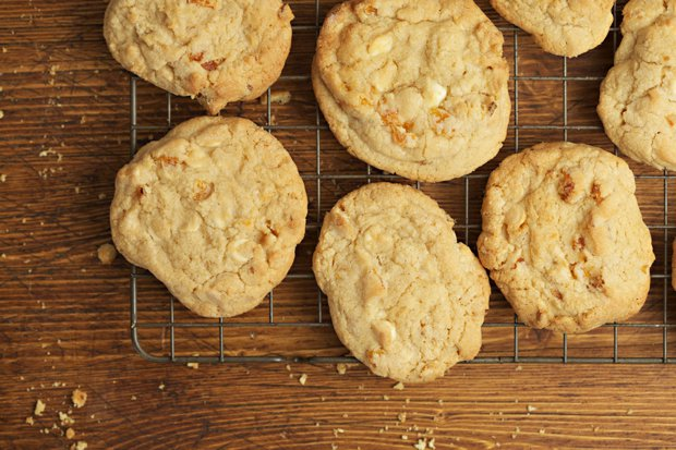 gluten free cookie recipe – gluten free white chocolate and apricot cookies main
