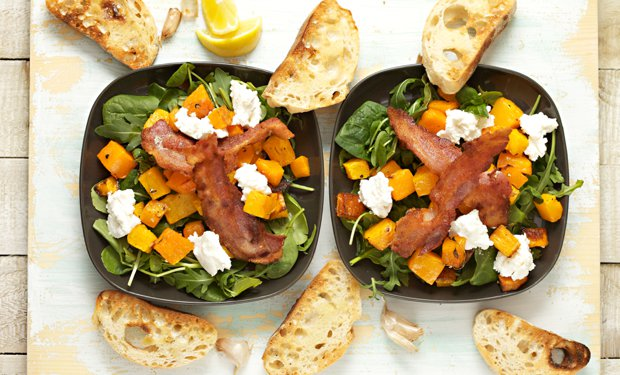 508 warm squash and ricotta salad main