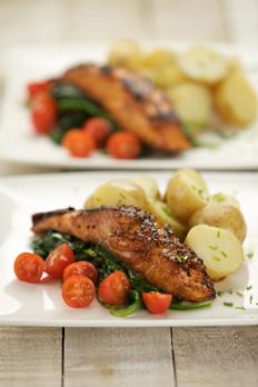 Valentines salmon recipe