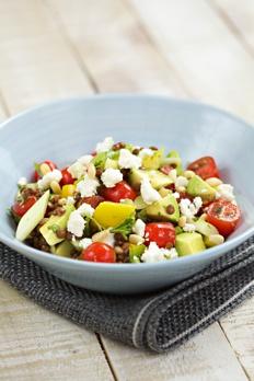 Avocado and Puy Lentil Salad Recipe