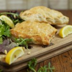 Lemon Chicken Pie Recipe with raisins and pine nuts