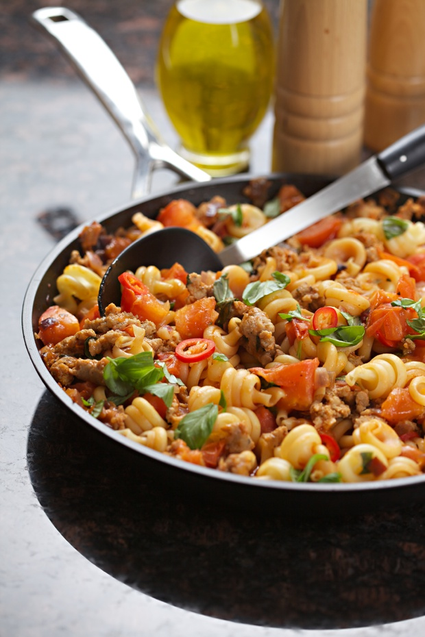 Alternative to Spaghetti Bolognese - Trottole Sausage Bolognese Recipe ...