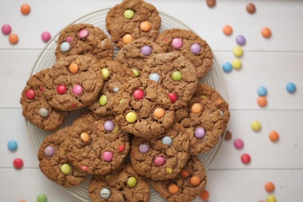 306 smartie cookies 2
