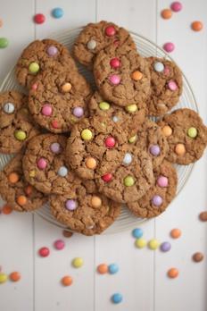 smartie cookies recipe