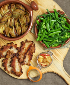 Pork steaks recipe