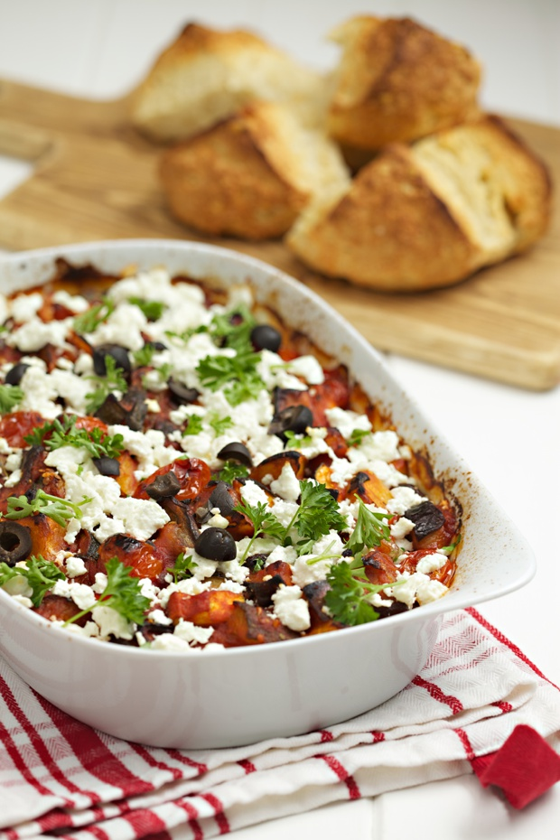 813 Aubergine and feta bake-main