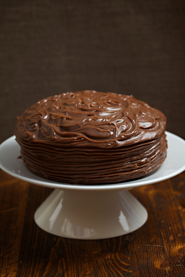 Gluten Free Chocolate Cake Recipe with chocolate ganache topping ...