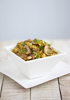spicy risotto student recipe