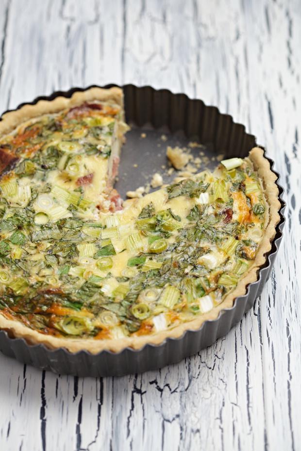 bacon and egg quiche recipe