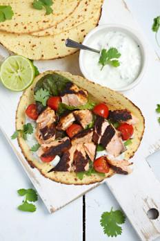 Gluten-free Salmon Tortilla