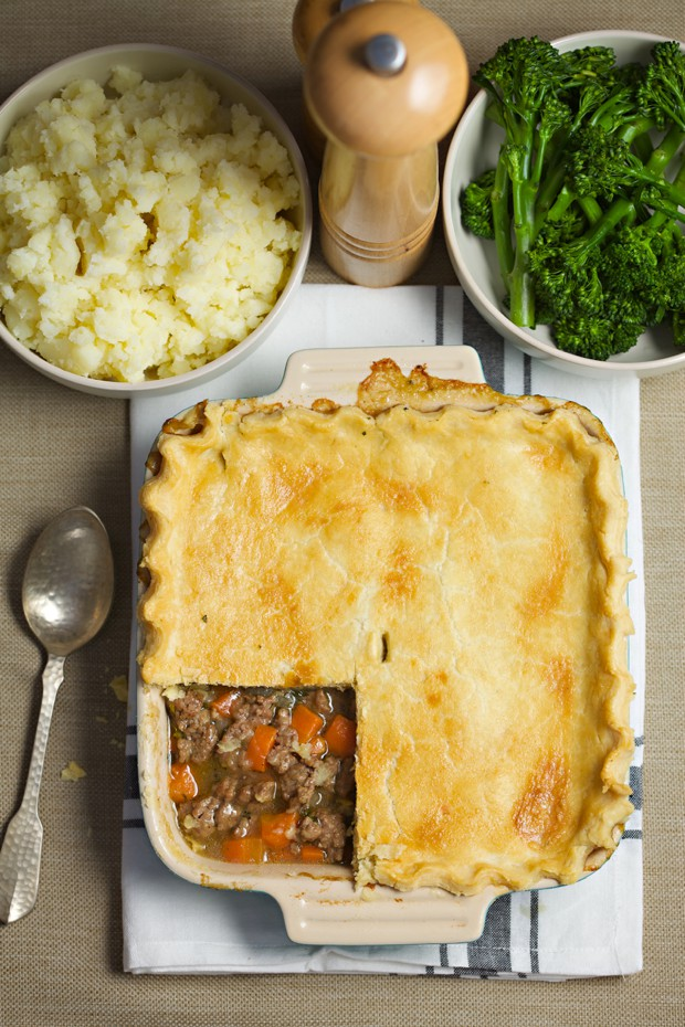 1652 minted lamb pie