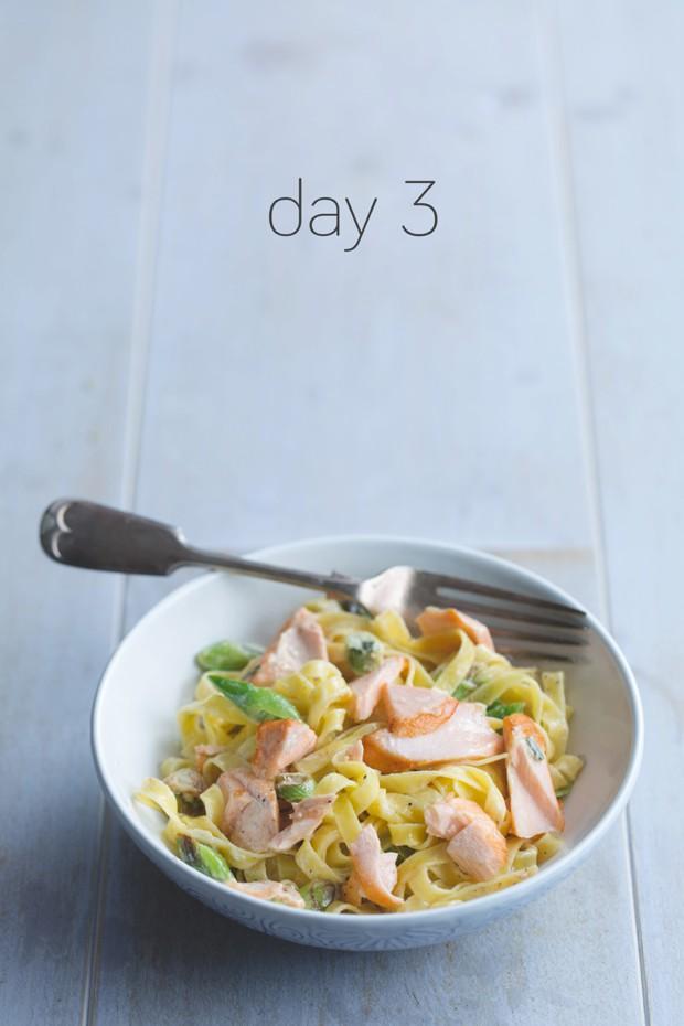 p40 Salmon Pasta